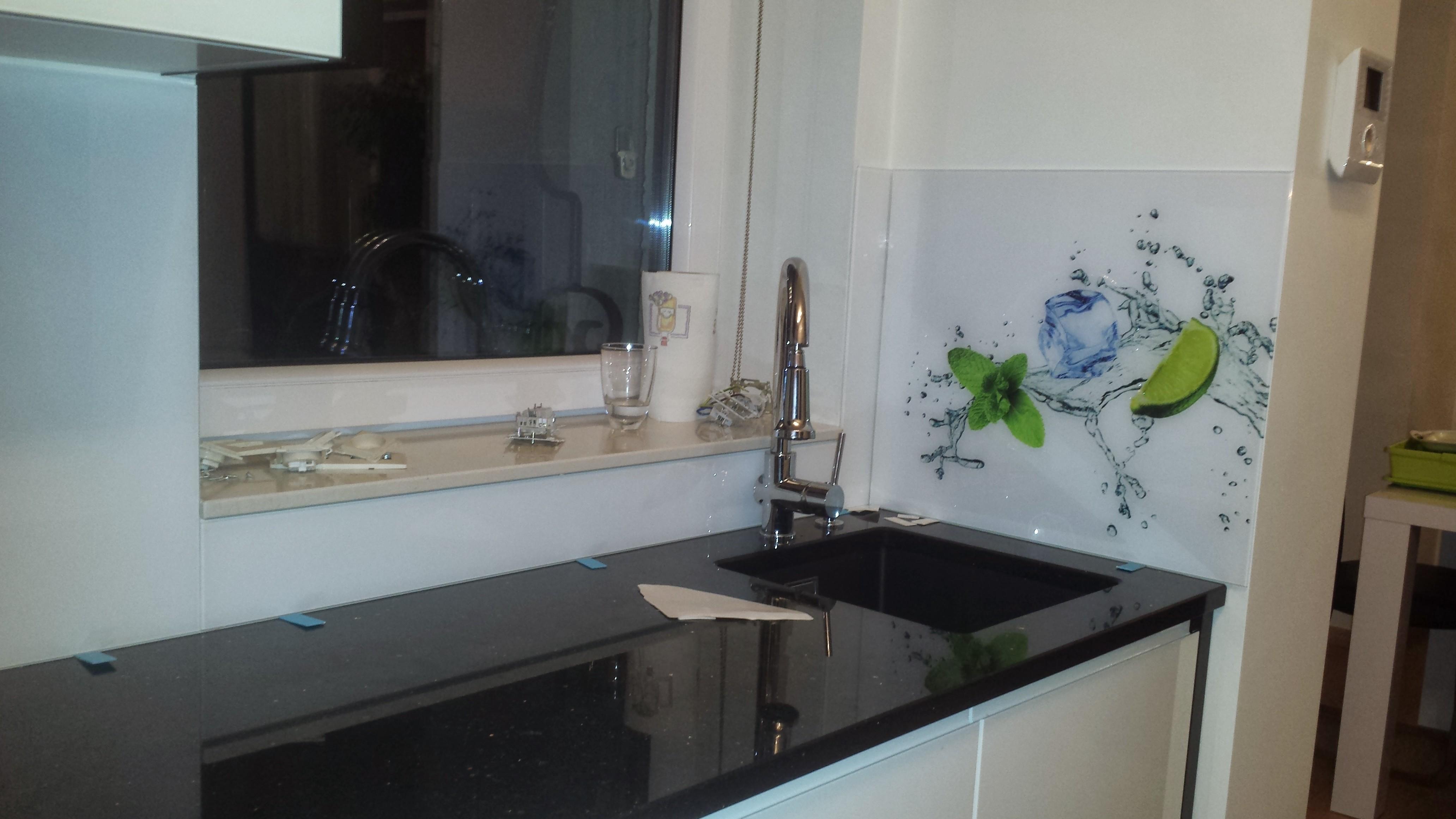 Wykończenie ścian kuchni