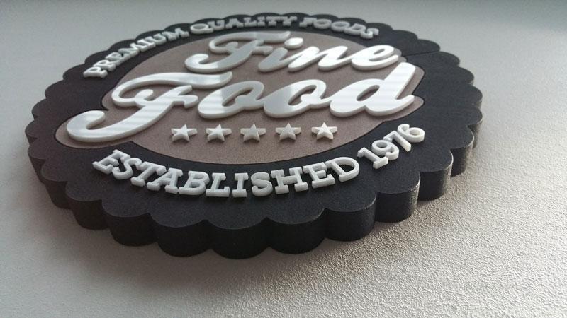 Reklama 3D – styrodur
